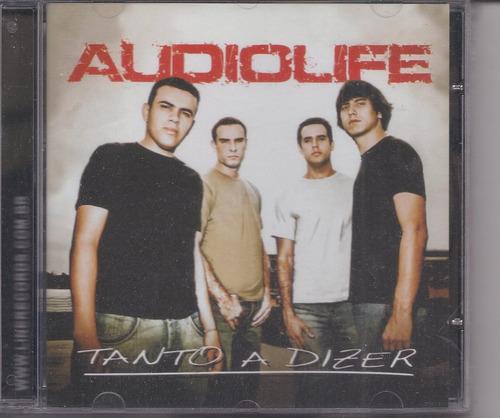 CD Audiolife - Tanto a Dizer