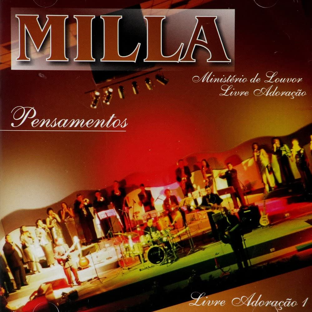 CD Banda Milla Pensamentos (Com Playback Incluso)