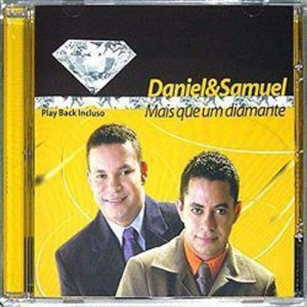 CD Daniel E Samuel - Mais Que Um Diamante Playback Incluso