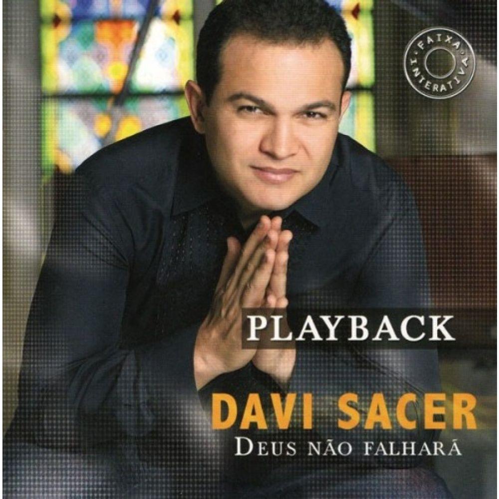 CD Davi Sacer - Deus Não Falhará Playback