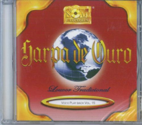 CD Harpa de Ouro - Voz e Playback Volume 15