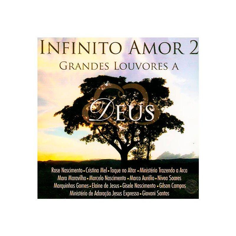 CD Infinito Amor Vol. 2 - Grandes Louvores A Deus