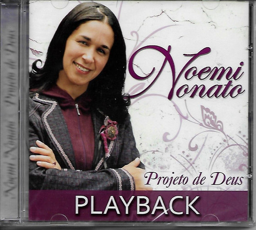 CD Noemi Nonato - Projeto de Deus Playback