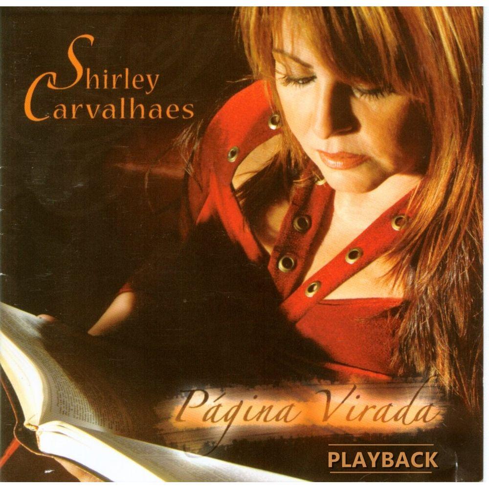CD Shirley Carvalhaes - Pagina Virada Playback
