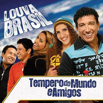 CD Tempero do Mundo e Amigos - Louva Brasil