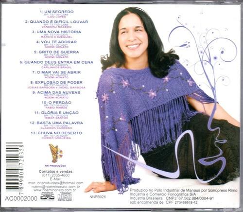 CD Noemi Nonato - Uma Nova Historia Playback