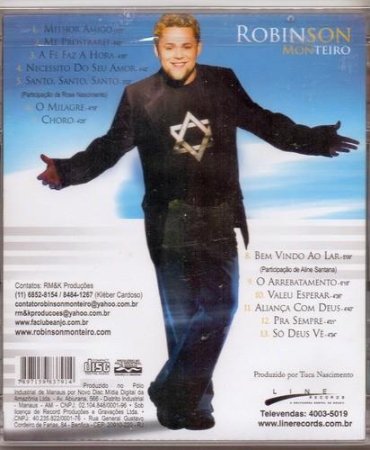CD Robinson Monteiro - Uma Nova Historia