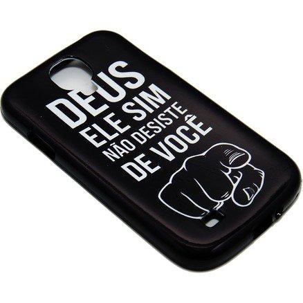 Capa para Celular Samsung Galaxy - Deus Ele Sim Não Desiste de Você