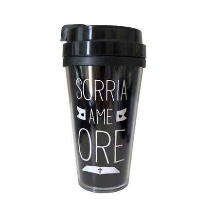 Copo de Café - Sorria Ame Ore - 500ml