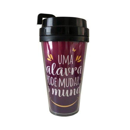 Copo de Café - Uma Palavra Pode Mudar O Mundo - 500ml