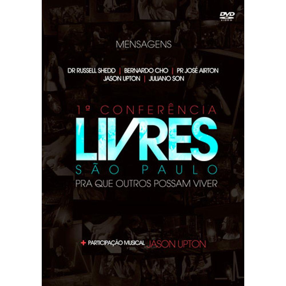 DVD 1ª Conferência Livres São Paulo - Mensagens