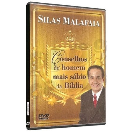 DVD Silas Malafaia - Conselhos Do Homem Mais Sabio Da Bíblia