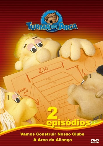 DVD Turma Da Arca - Volume 1