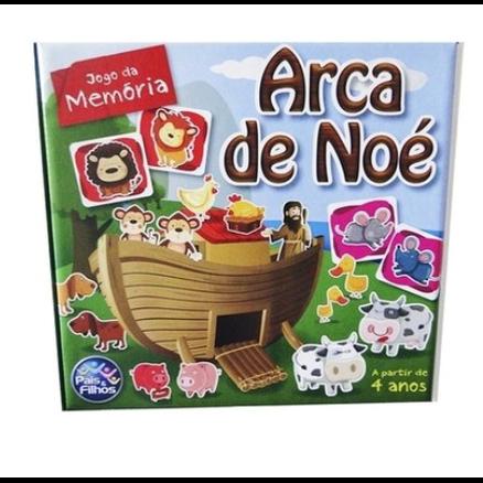 Jogo da Memória 40 peças - Arca de Noé