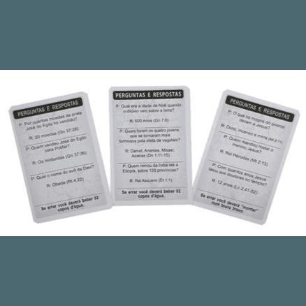 Dois Jogos Evangelização em 1 - Jogo Perguntas e Respostas Bíblicas + Jogo Trono