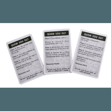 Dois Jogos Evangelização em 1 - Jogo Quem Sou EU? + Jogo Quik