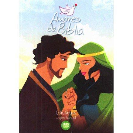 Livro Amores Da Bíblia - Cristina Marques