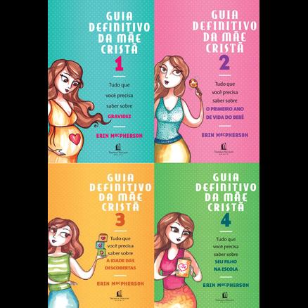 Pack Com 4 Livros Guia Definitivo da Mãe Cristã