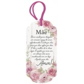 Placa TAG em MDF e Papel Decor Home Decorativa