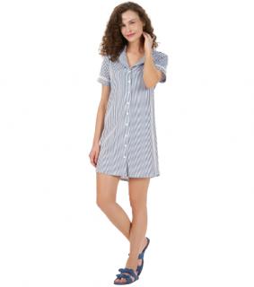 Camisola Listras Comfy 100% Algodão Cor Com Amor