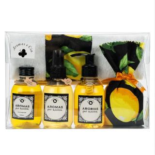 Kit Miniaturas Aromatizantes Limão Siciliano
