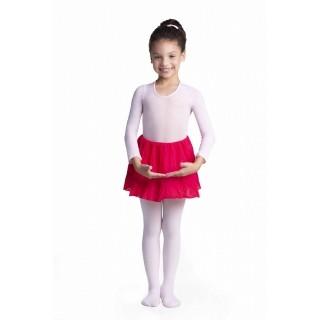 Meia Meninas Infantil KF Fio 20 Branco Trifil