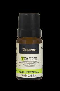 Óleo Essencial de Tea Tree (Melaleuca) Via Aroma 10ml