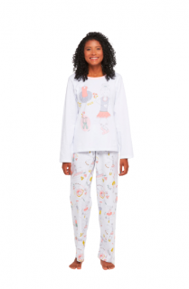 Pijama Feminino Inverno 100% Algodão Sonhart