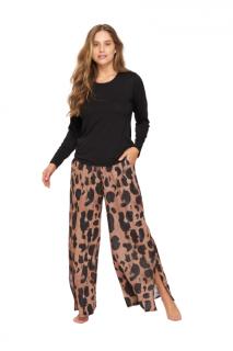 Pijama Feminino Inverno Animal Print Recco