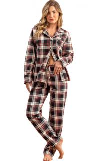 Pijama Feminino Inverno Cardigan Xadrez MIXTE