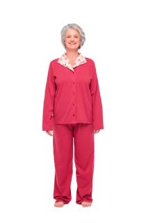 Pijama Feminino Inverno Clássico c/ Botões Sonhart ORIGINAL