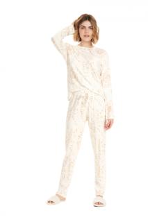 Pijama Feminino Inverno Clean Cor Com Amor