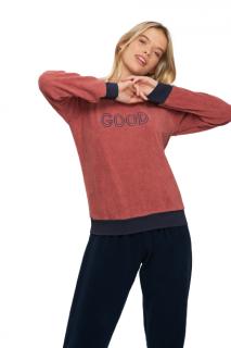 "Pijama Feminino Inverno ""Good"" Recco"