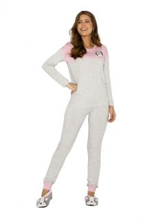 Pijama Feminino Inverno Mescla AnyAny