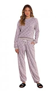 Pijama Feminino Inverno Poá Moonlight Lua Luá TAMANHO: P