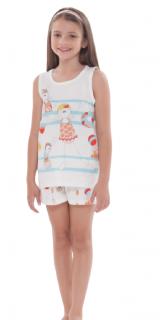 Pijama Infantil Menina Colorido Sonhart TAMANHO: 08