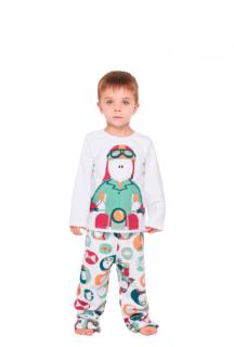 Pijama Infantil Menino Inverno Moletinho Peluciado Sonhart
