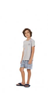 """Pijama Infantil Menino """"Just Another Day"""" Pai e Filho Cor Com Amor"""
