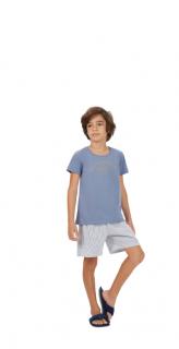 """Pijama Infantil Menino """"The Summer"""" Pai e Filho Cor Com Amor"""