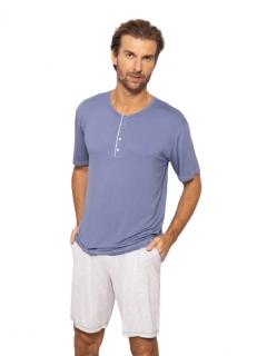 Pijama Masculino Azul Índigo