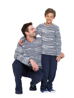 Pijama Masculino Inverno Azul Soft AnyAny
