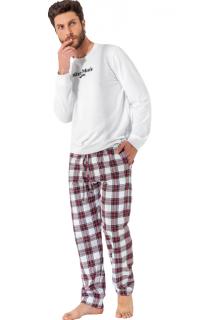 Pijama Masculino Inverno Blusa Moletom e Calça Xadrez MIXTE