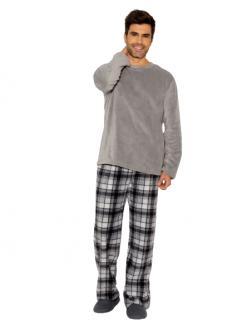 Pijama Masculino Inverno Fleece Aspen Xadrez AnyAny