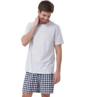 Pijama Masculino Xadrez Verão