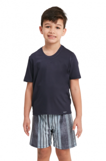 Pijama Menino Infantil Azul Classic Recco