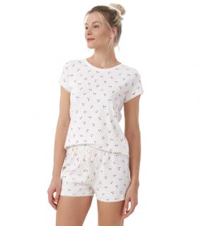 Pijama Short Doll Cerejas - TAMANHO: M