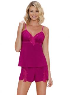 Pijama Short Doll Feminino Pink Mahal Fruit de La Passion