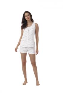 Pijama Feminino Short Doll Regata Primavera