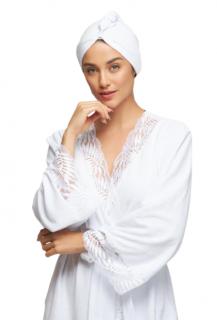 Robe Clássico Atoalhado Branco Recco
