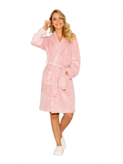 Robe Rosé Transpassado Fleece AnyAny